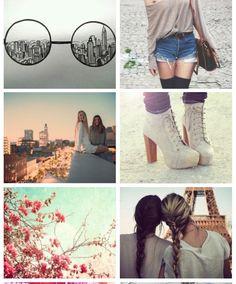 Vintage tumblr collage
