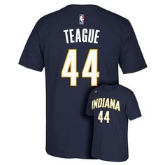 ... adidas Mens Indiana Pacers Jeff Teague Player Tee . ... 41bac77b0
