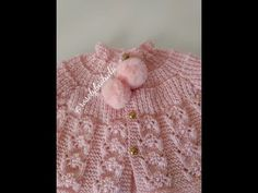 Casaquinho Anjinho 0 a 3 meses - YouTube Baby Knitting, Crochet Baby, Knit Crochet, Knitting Videos, Kids Fashion, Make It Yourself, Youtube, Blog, Crocheting
