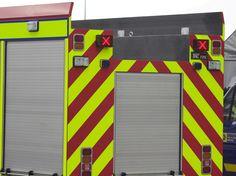 IPN direction indicator on fire engine