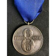 SS-Dienstauszeichnung 8 Jahre 1938 Vintage Paper, Ww2, Dog Tags, Dog Tag Necklace, Label, Germany, Pendant Necklace, Money, Jewelry