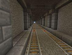 Minecraft - Underground Rails