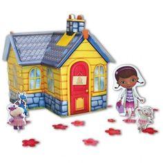 Doc McStuffins Clinic - Table Centrepiece | Doc Mcstuffins Party Supplies - kids-partyshop.co.uk