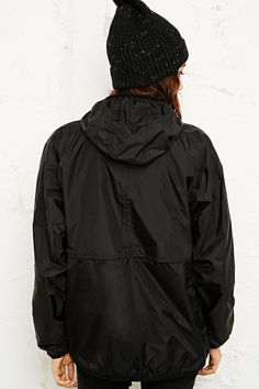 K-Way Claudette Waterproof Jacket in Black - Urban Outfitters