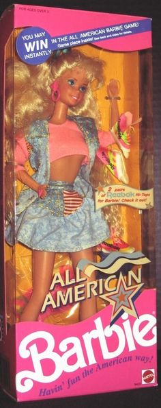 1990 All American Barbie - Loved this one, still have it!