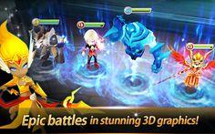Summoners War là một tựa game Time-Based nhập vai chơi trực tuyến trên các thiết bị Android, Tablet. Game được thiết kế với đồ họa 3D sinh động hình ảnh sắc nét rất lôi cuốn người chơi, được biết đây là một sản phẩm của hãng Com2uS sản...