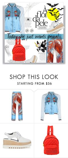 """""""Projota - Ela Só Quer Paz"""" by railda-pereira ❤ liked on Polyvore featuring Emilio Pucci, Glamorous, STELLA McCARTNEY, Moschino, CZ by Kenneth Jay Lane and Bela"""