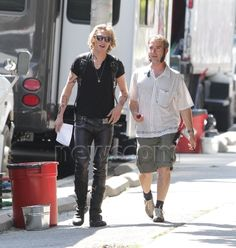 : Photo Jamie Campbell Bower shows off his tattooed arms on the set of his film The Mortal Instruments: City of Bones on Thursday (August in Toronto, Canada. Robert Sheehan, Jamie Campbell Bower, Cassandra Clare, The Mortal Instruments, Normcore, Sporty, Punk, Nap, Movies