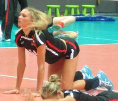 Saskia Hippe, german volleyball player