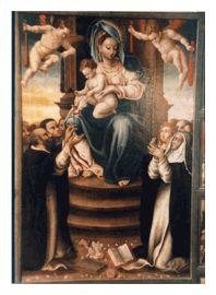 La Madonna del Rosario di Lelio Leoncini