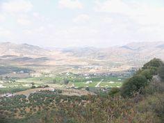 Vista parcial del valle desde el santuario de Nuestra Señora de las Flores