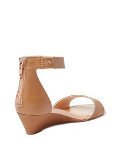 Sometimes Two-Piece Wedge Sandal from Seychelles on Gilt