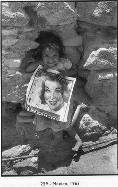 Henri Cartier Bresson - Mexico, 1963.