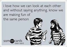 This is Becky and I for sure!