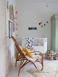 Kids-Room nursery in 2019 kids room, baby room decor, modern White Nursery, Nursery Room, Kids Bedroom, Bright Nursery, Kids Rooms, Nursery Modern, Nursery Neutral, Modern Crib, Nursery Ideas
