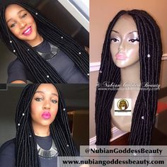 Wow. It's a glue less wig!  @NubianGoddessBeauty nailed this look  What you get: - A two in one luxury wig. Faux locs on 100% virgin hair. - Time. Save your time. Skip those long torturous hours getting locs in. - Your edges. Treat your hair & save your edges while rocking your gorgeous locs. No glue required. Very secure fit.  Get your faux locs lace wig or lace front from http://ift.tt/1L5Wr5R Email: marilynebele@gmail.com for all inquiries  #NubianGoddessBeauty Follow…