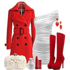 #Outfit #Clothing #Fashion #Cute #Overcoat #Women #Discount #BagsQ.