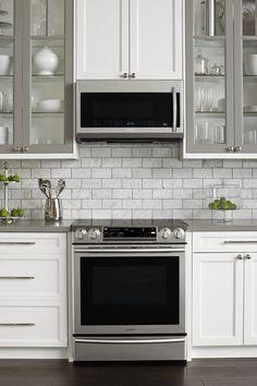 More ideas below: #KitchenIdeas #KitchenCabinets #Kitchen #Cabinets Two Tone Kitchen Cabinet Color Combinations Modern Wood Two Tone Kitchen Cabinet Ideas Painted Two Tone Kitchen Cabinet With Island