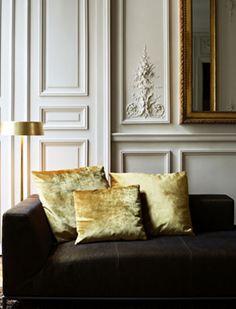 {Simply Seductive : a lifestyle & fashion blog}: Inspiration: {Gold Velvet, Paris and Mirrors}