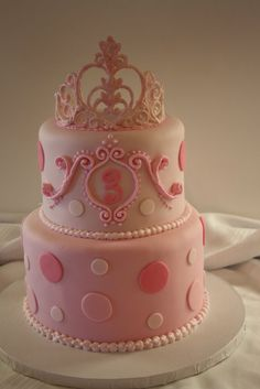 Love this sweet princess cake