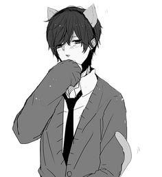 This neko boy though ✨✨ Anime Neko, Fanarts Anime, Kawaii Anime, Anime Characters, Manga Anime, Anime Art, Kawaii Cat, Neko Boy, Boy Cat