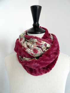 Snood Liberty+fausse fourrure