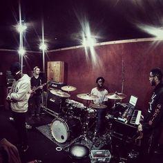 @faithchild preparing for #airbornetour @thedrumbirmingham this Saturday #supportukmusic