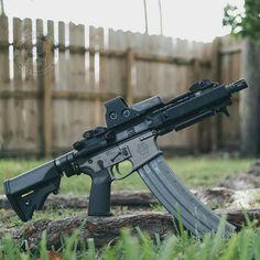 Assault Weapon, Assault Rifle, Weapons Guns, Guns And Ammo, Glock Guns, Rifles, Battle Rifle, Fire Powers, Custom Guns