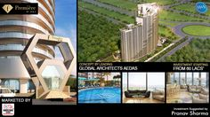 Luxury doesn't require words, it speaks for itself. F-Premier speaks luxury as you step into the world designed to attract your soul to the most comfortable living arena. Investment starts at 60 Lacs. Call at 9250401940 for more information. Investors, Real Estate, Mansions, Luxury, World, House Styles, Design, Mansion Houses, The World