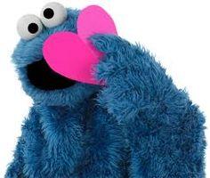 Znalezione obrazy dla zapytania cookie monster