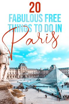 There are loads of free activities and free things to do in paris. From free mus. - There are loads of free activities and free things to do in paris. From free museums in paris to fr - Paris France Travel, Paris Travel Guide, Europe Travel Tips, European Travel, Travel Advice, Travel Checklist, Asia Travel, Travel Essentials, Nice