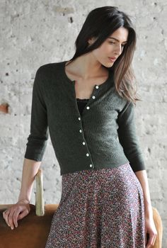 Lace Cardigan - Cashmere Cardigans | Brora