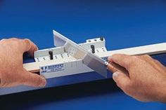 Must have metal clay construction tool- hobby sized miter box!