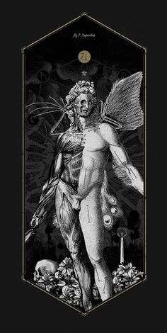 The Anatomy of Sin by Mimetica, via Behance Tshirts available…