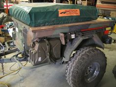 """The """"Un-Offical"""" Off Road Trailer Pic Thread Diy Camper Trailer, Trailer Tent, Off Road Trailer, Trailer Plans, Trailer Build, Jeep Camping Trailer, Expedition Trailer, Overland Trailer, Off Road Camping"""