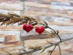 Polymer earrings - little hearts
