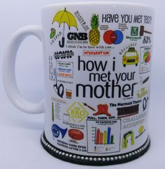 Caneca How I Met Your Mother - Mod.25