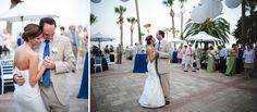 Sea Island Beach Club Wedding Reception. Georgia Wedding Photographers