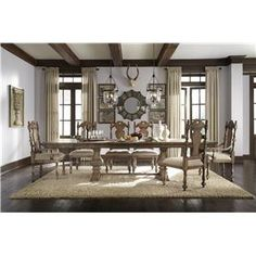 Pulaski Furniture Accentrics Home Desdemona Rectangular Dining Table - Hudson's Furniture - Dining Room Table