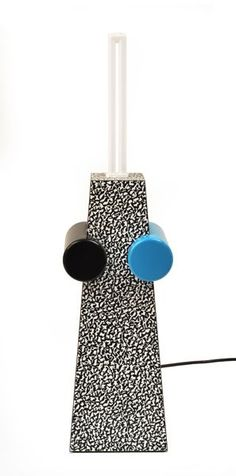 Michele Di Lucchi - A Lamp, Memphis Milano Casa Pop, Memphis Milano, 1980s Design, Memphis Pattern, I Love Lamp, Memphis Design, Design Movements, Lamp Light, Architecture