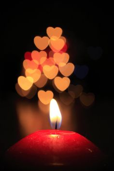 Creative Bokeh by NumericArt on DeviantArt Yellow Photography, Bokeh Photography, Creative Photography, School Photography, Heart Wallpaper, Of Wallpaper, Candle Lanterns, Candles, Love Wallpapers Romantic