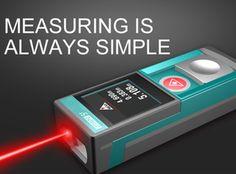 dTAPE Smart Laser Distance Meter SMART DIGITAL TAPE,TOUCH NEW ERA