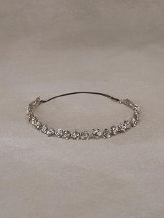 NARDO - Diadema de novia de flores en plata vieja y pedrería   Pronovias