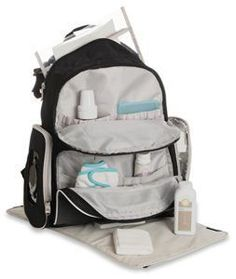 a26c138e87 Graco Gotham Smart Organizer System - Baby Diaper Bag Backpack - Large