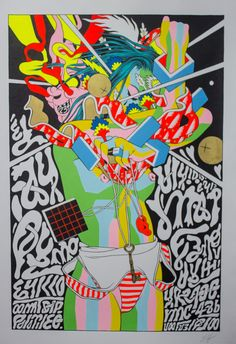 "Artist: Bicicleta Sem Freio's ""This Is Not A Poster"" at FIFTY24SF."
