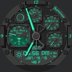 Survival Champ by Bone Head Design for Moto 360 - FaceRepo Amazing Watches, Cool Watches, Watches For Men, Sport Watches, Smartwatch, Survival Watch, Header Design, Mens Toys, Apple Watch Faces