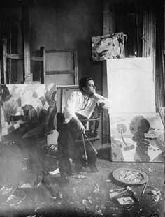 Francis Picabia in his Studio c1910-1915 At fifteen Francis Picabia financed his stamp collection by copying paintings belonging to his father, switching the originals for the copies without his father's knowledge, and selling them. In 1911 he joined...