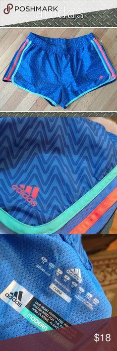 Nwot womens adidas sz medium shorts Brand new adidas women's shirts sz med. Blue w orange and turq. Adidas Shorts