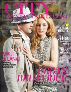 Every issue the editors and their international teams scour the globe to bring the best in Food Fashion and Travel. International Teams, Living Magazine, Bridal Beauty, City Style, Magazine Covers, Food Styling, Models, Face, Casual
