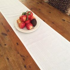 Modern Crisp White & Silver Thread Christmas Table Runners, Quality Hand Made! by AeviternalCreations on Etsy